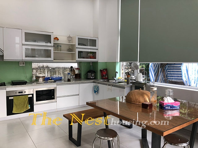 Modern house for rent in thao dien 4 bedrooms for Modern house for rent