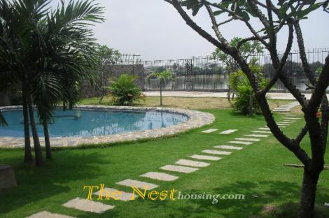 villa for rent in compound district 2, hcmc