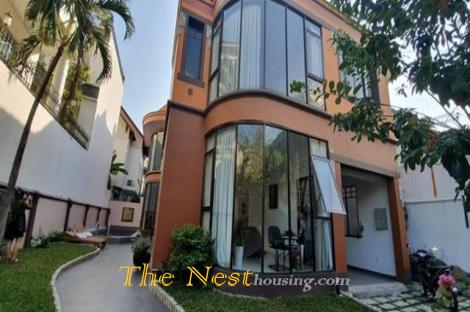 Villa for rent in Thao Dien, 4 bedrooms, fully furnished