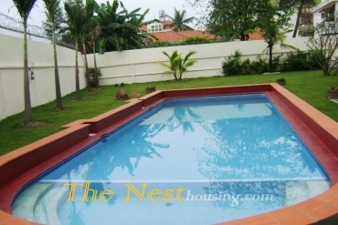 Charming villa for rent in District 2, 5 bedrooms, private swimming pool, 2500 USD