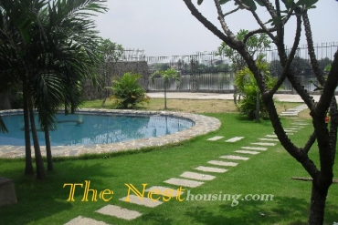 Charming villa for rent in compound, 4 bedrooms, 4500 USD