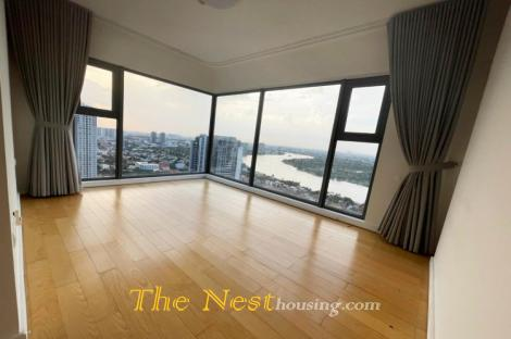 Modern aparment 4 bedrooms beautiful river view for rent in Gateway Thao Dien