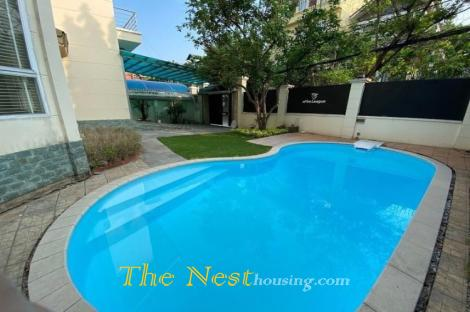 House for rent Thao Dien dist 2, has pool & Garden