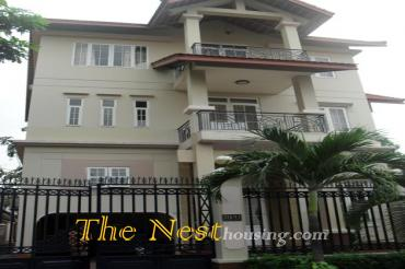 House 5 BEDROOMS for rent with private swimming pool in Dist 2