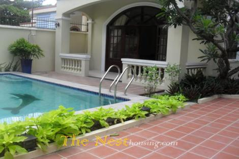 House for rent in dist 2 with swimming pool