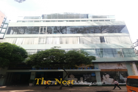Modern, charming, luxury office for lease in Ho Chi Minh city, at NAHI building Cao Thang street, district 3