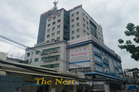 Good price office for lease on Ly Chinh Thang street, Vina Giày building, district 3 HCM