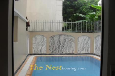 Villa for rent in compound Thao Dien, 4 bedrooms