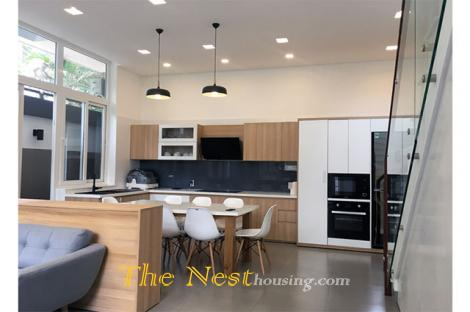Modern house in District 2 for rent