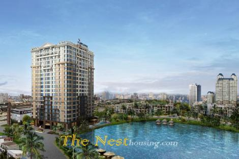 Duplex apartment for rent in Cantavil Hoan Cau, 350 sqm, 4 bedrooms, fully furnished, 4000 USD