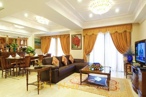 Modern apartment in the city central for rent, good location, nice city view, 4800 - 5500 USD