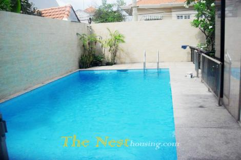 House Thao Dien with private swimming pool, 5 bedrooms
