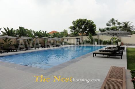 Luxury penthouse for rent in Thao Dien, 4 bedrooms, beautiful river view
