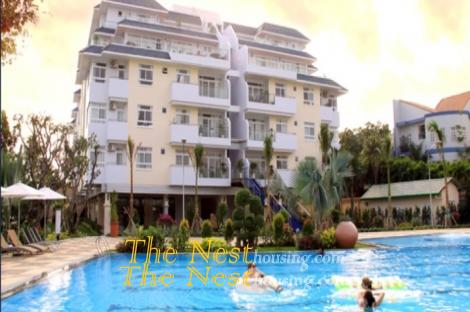 Beautiful penthouse for rent in Thao Dien, 4 bedrooms, river view, good location, 5800 USD