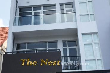 Modern villa for rent in Thao Dien, 5 bedrooms, modern style, quiet area, 3200 USD