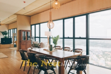 Penthouse in The Ascent high end life style in central of Thao Dien