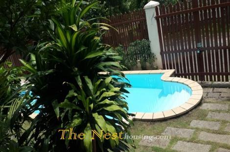 Nice villa for rent in Thao Dien