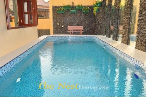 Nice villa for rent in Thao Dien