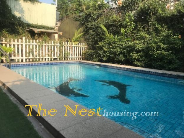 Nice villa for rent in District 2