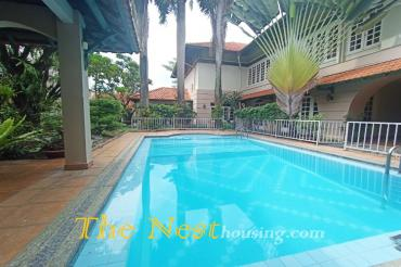 Villa for rent with big garden Thao Dien Ward District 2