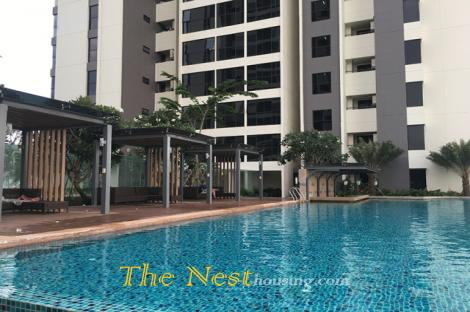 Charming apartment for rent in The Ascent - 2 bedrooms, modern style, 1000USD includes management fees