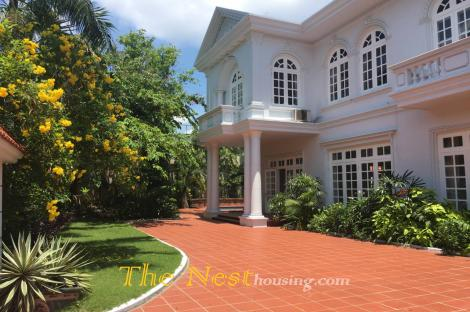 Villa in Thao Dien For Rent - Close to An Phu Supermarket, 4 bedrooms