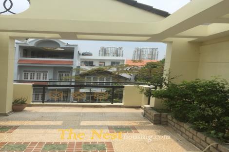 House for rent in Nguyen Van Huong, Thao Dien