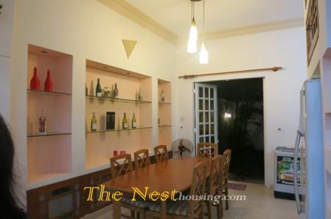 Nice house for rent in Thao Dien, 4 bedrooms, fully furnished, 1800 USD