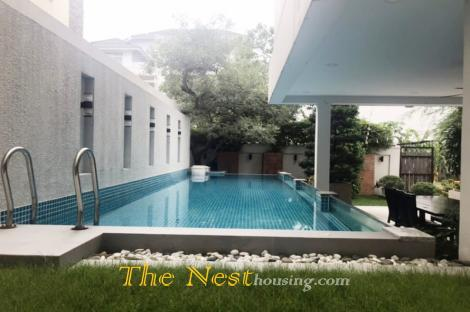 House for rent in compound, Thao Dien Ward, dist 2, HCM