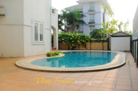 Villa for rent in compound, 4 bedrooms, Private swimming pool