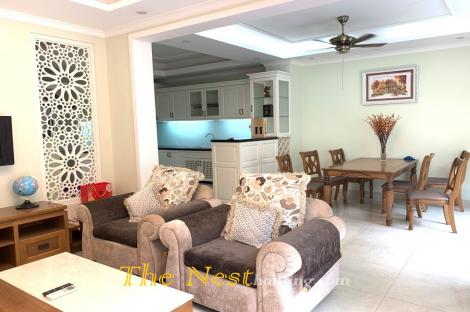 House for rent in Thao Dien, 3 bedrooms, 1 office room, fully furnished