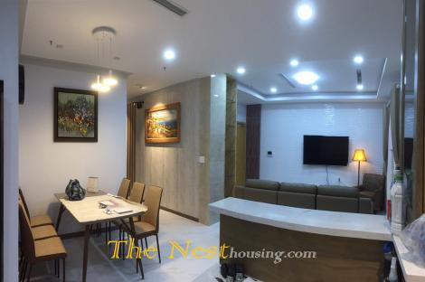 Penthouse for rent in Masteri Thảo Điền, has garden, Terrace