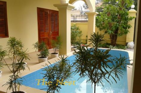 Modern villa 4 bedrooms for rent in Thao Dien