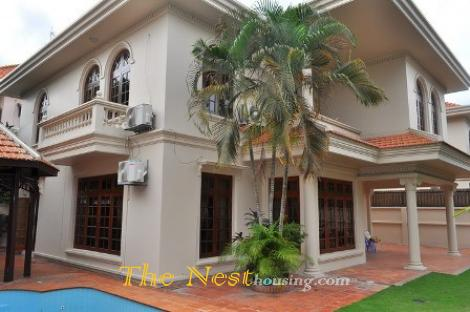 charming villa 4 beds with garden and swimming pool, Thao Dien, dist 2