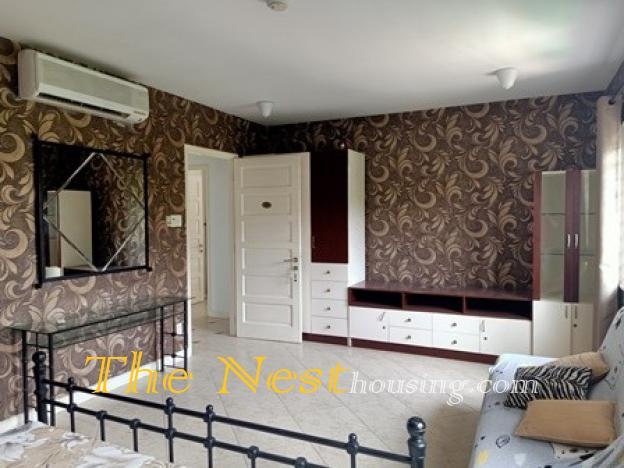 Nice villa for rent in compound, near BIS school in Thao Dien ward, dist 2