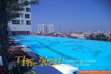 Modern apartment 2 bedrooms for rent in Thao Dien Pearl