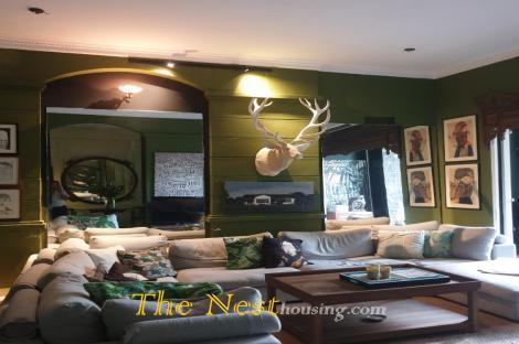 House Thao Dien for rent, 3 bedrooms with garden