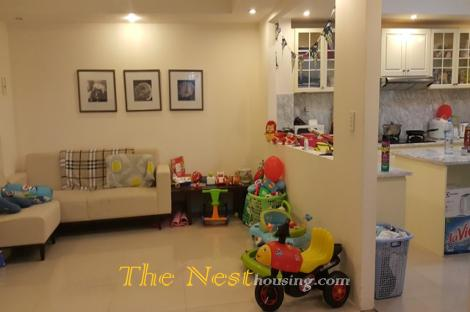 Service apartment for rent in Thao Dien