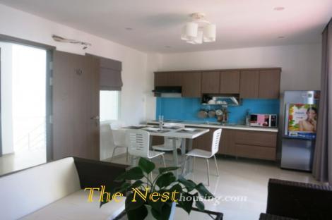 Penthouse 2 bedrooms, big terrace in Thao Dien