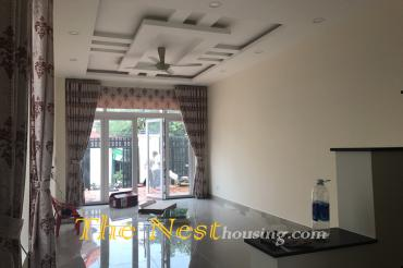 Nice house for rent in Thao Dien, 4 bedrooms, partly furnished, 1100 USD