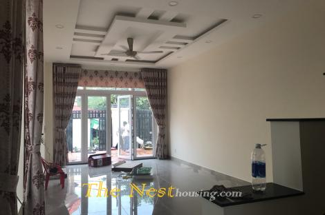 Nice house for rent in Thao Dien, 4 bedrooms, partly furnished, 1150 USD