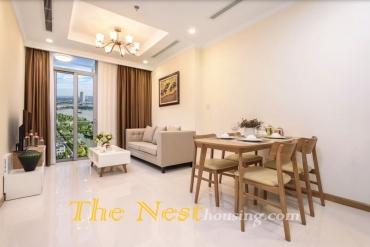 Vinhomes Central Park 1 bedroom apartment for rent in Landmark 4 & Landmark 5