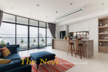 Modern apartment 3 bedrooms for rent in City garden
