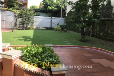 Charming house for rent in District 2, large garden, 3 bedrooms