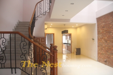 Nice house for rent in District 2, 3 bedrooms, good location