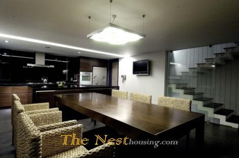 Modern villa for rentin compound: