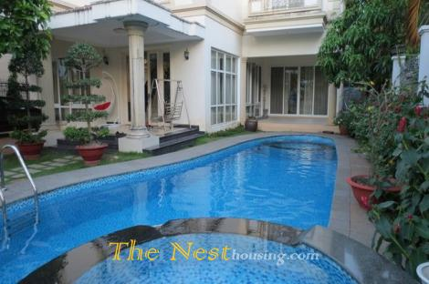 Villa in compound with garden, Private swimming pool