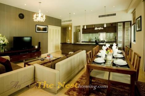 AVALON apartment in dist 1 HCMC for rent, has 2 bedrooms
