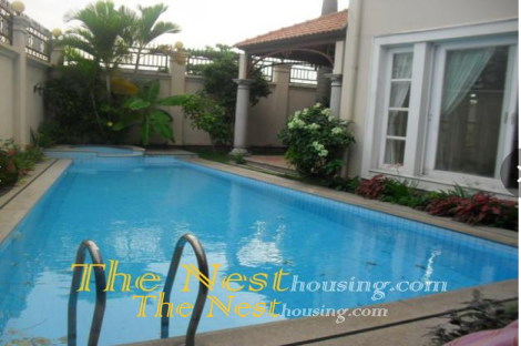 Villa Thao Dien district 2, Private pool has 4 bedroom, river view
