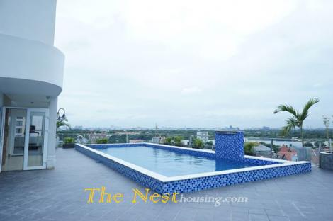 Service apartment 1, 2 bedrooms in Thao Dien District 2